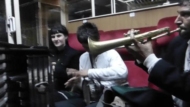 Rencontre inattendue dans le train pour Sofia