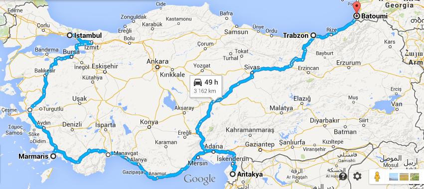 Un voyage en Anatolie