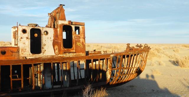 Feue la mer d'Aral